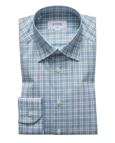 Men's Check Contemporary Sport Shirt