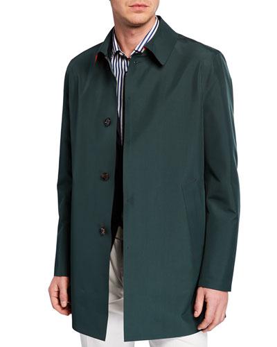 b1303d1bbf2 Back Vent Collar Coat | Neiman Marcus