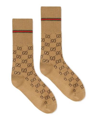 682ab1773 Quick Look. Gucci · Men's GG Socks ...