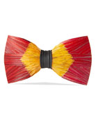 Brackish Bowties Starfire Feather Formal Bow Tie