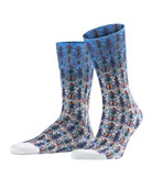 Falke Men's Bug-Patterned Socks