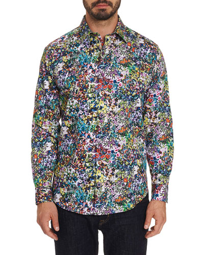 Men's Rallis Flower Power Sport Shirt
