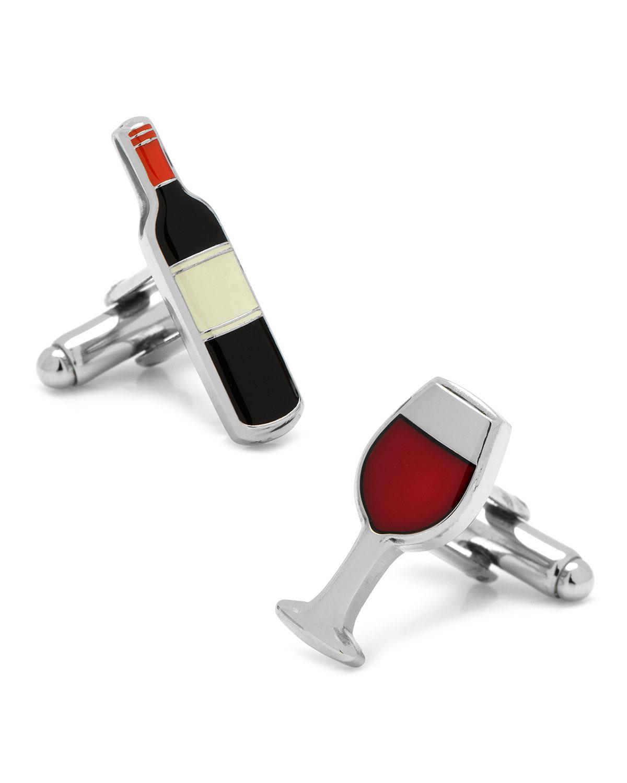 Wine & Bottle Cufflinks