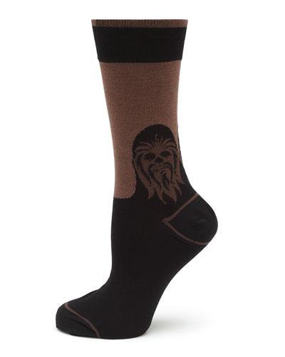 Chewbacca Mod Black Socks