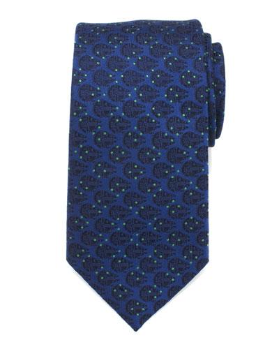 Millennium Falcon Dotted Tie