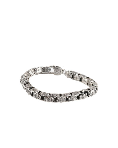 Men's Sterling Silver Chain Bracelet