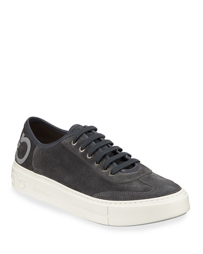 Men's Truman Suede Low-Top Sneakers