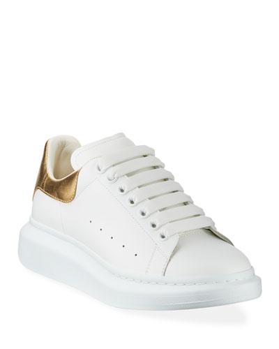 Gold Sneakers | Neiman Marcus