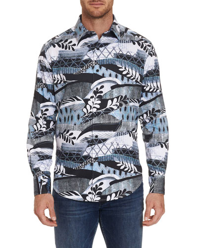 Men's Buckler Graphic Sport Shirt