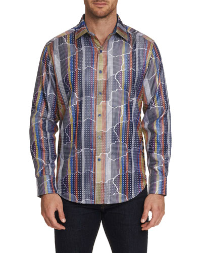 Men's Armadillo Lair Graphic Sport Shirt