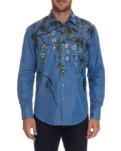 Men's Shangri-La Graphic Sport Shirt