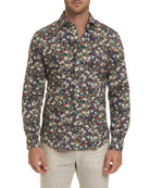 Robert Graham Men's Lombardi Floral Shirt