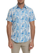 Robert Graham Men's Athens Short-Sleeve Shirt