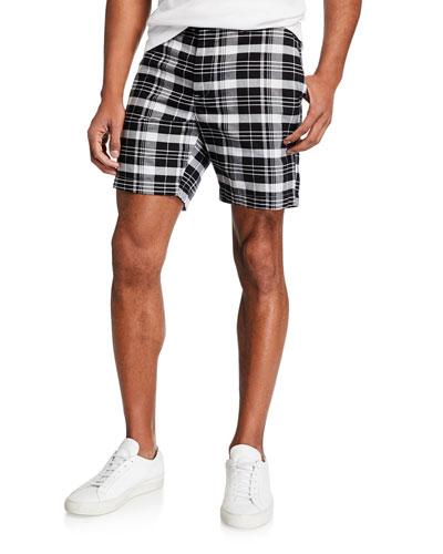 Men's Plaid Comfort Shorts