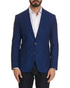Robert Graham Men's Renon Cotton Two-Button Jacket