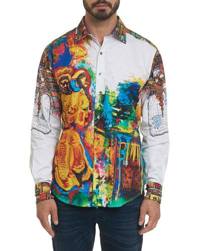 Men's Limited Edition The Yaki Warrior Sport Shirt