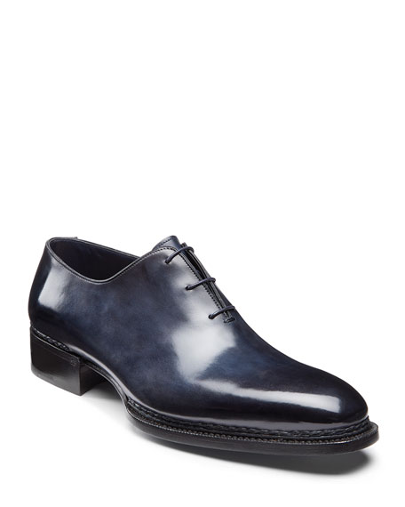 Santoni Men's Ribona Limited Lace-Up Dress Shoes
