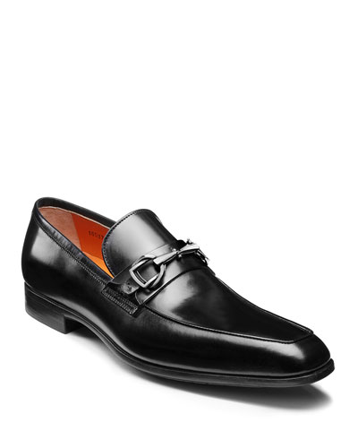 Men's Ivo Leather Loafers, Black