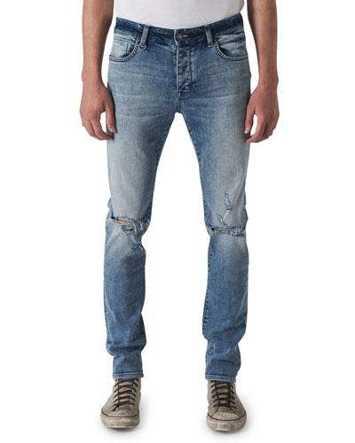 Men's Iggy Skinny Light-Wash Jeans, Chapman