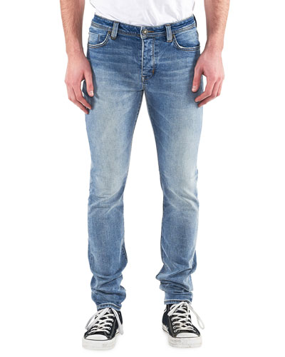 Men's Iggy Skinny Light-Wash Jeans, Atomic Air