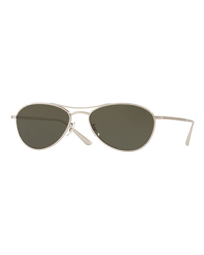 Men's Aero L.A. Polarized Aviator Sunglasses