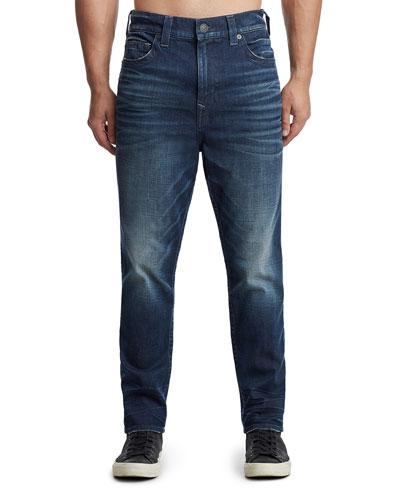 Men's Marco Tapered Denim Jeans, Dark Axle
