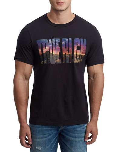 Men's Photo Real Logo T-Shirt