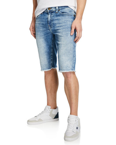 Men's Ricky Flap-Pocket Denim Shorts