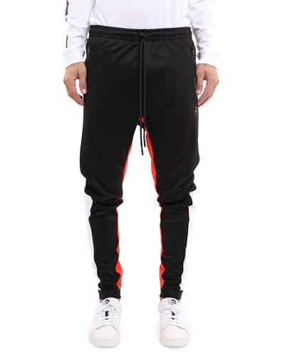 Men's Mitsuo Two-Tone Jogger Pants
