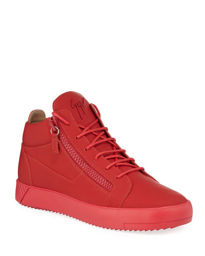 Men's Tonal Mid-Top Sneakers