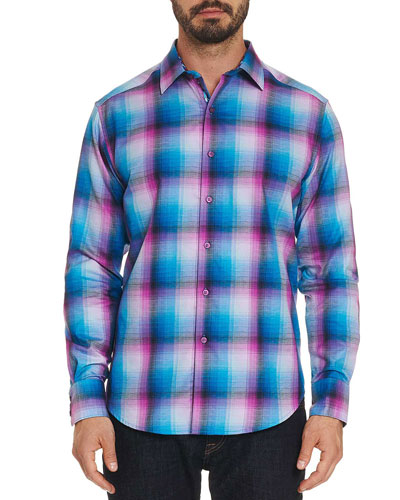Men's Dion Plaid Sport Shirt