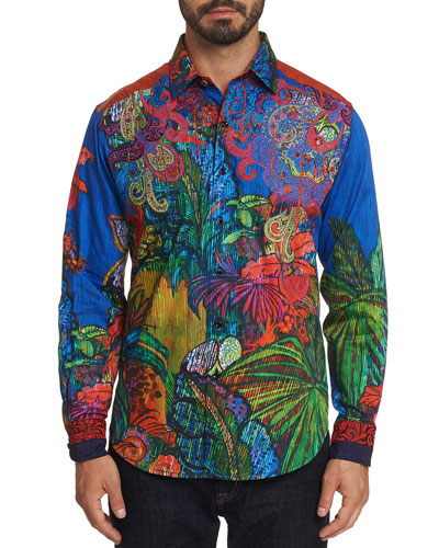 Men's Limited Edition Tropical Harmony Sport Shirt