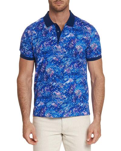 Men's Kalamata Graphic Polo Shirt