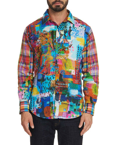 Men's Urban Dreams Graphic Sport Shirt