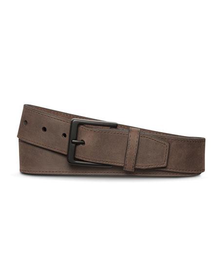 Shinola Men's Nubuck Utility Belt