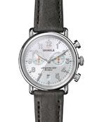 Shinola Men's 41mm Runwell Chronograph Watch
