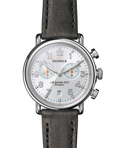Men's 41mm Runwell Chronograph Watch