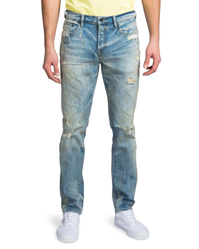 Men's Le Sabre Slim Shredded Jeans