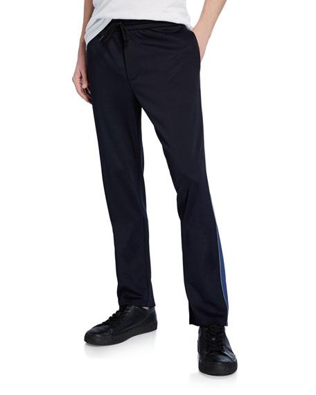 Vince Men's Side-Stripe Drawstring Track Pants