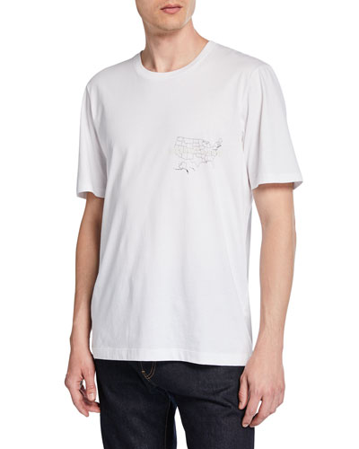 Men's Laws Graphic Short-Sleeve Jersey T-Shirt