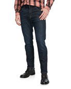 7 for all mankind Men's Adrien Clean-Pocket Denim