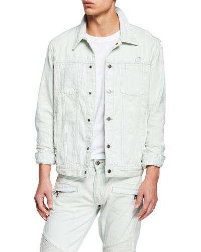 Hudson Jeans Mens Donovan Denim Jean Jacket