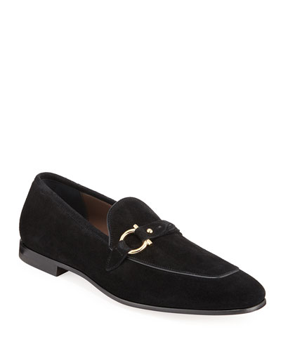 Men's Alessio Gancio-Bit Loafers
