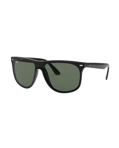 Men's Blaze Monochromatic Square Sunglasses