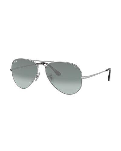 Men's Evolve Polarized Gradient Metal Aviator Sunglasses