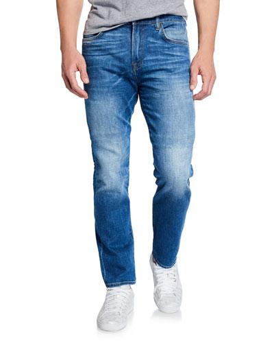Men's Adrien Clean-Pocket Denim Jeans