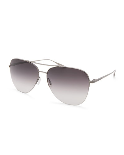 Men's Chevalier Aviator Sunglasses - Pewter Smolder