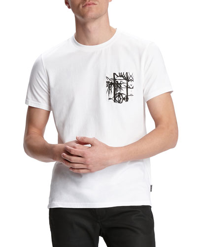 Men's Bayfront Short-Sleeve T-Shirt w/ Printed Chest Pocket