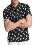 John Varvatos Star USA Men's Jasper Palm Toss