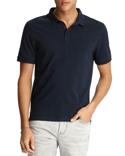 Men's Dover Tipped Pique Polo Shirt